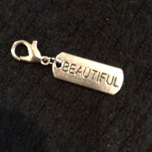 Silver Inspirational Charm